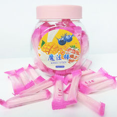 ช็อกโกแลตเมจิก Stick Healthy Hard Candy, 4g Strawberry Hard Candy